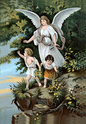 Photograph - Guardian Angel II by Vintage Advertising