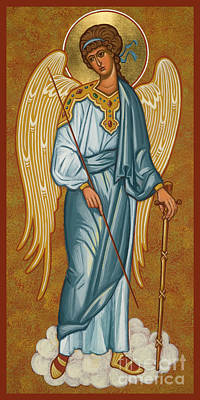 Painting - Guardian Angel - Jcgub by Joan Cole