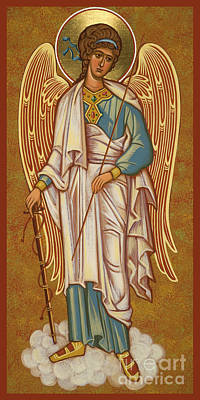 Painting - Guardian Angel - Jcguw by Joan Cole