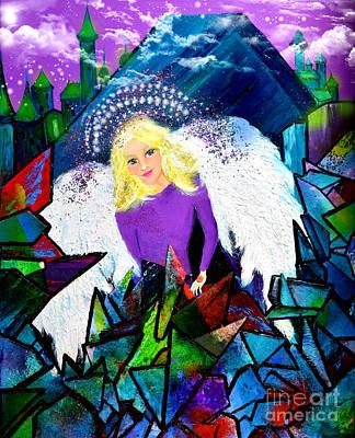 Guardian Angel Art Print by Patricia Motley