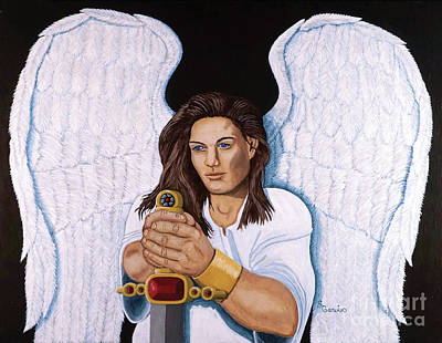 Garvin Painting - Guardian Angel by Stacy Garvin