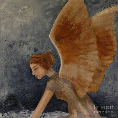 Painting - Guardian Angel by Terry Honstead