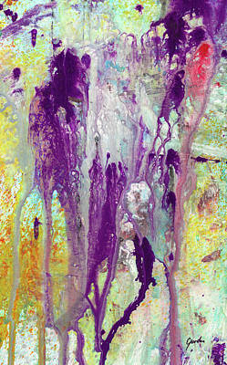Painting - Guardian Angels - Colorful Spiritual Abstract Art Painting by Modern Art Prints