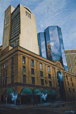 Heinz Painting - Guardian Angels by Erik Schutzman