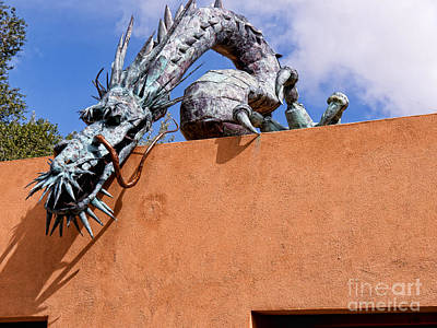 Photograph - Santa Fe Guardian Dragon by Brenda Kean