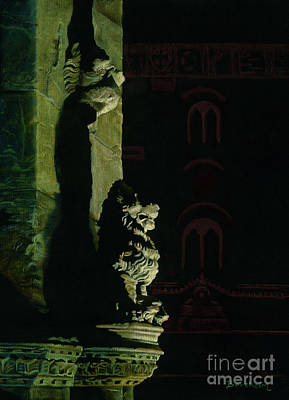 Painting - Guardian Of Firenze Italy by Kelly Borsheim