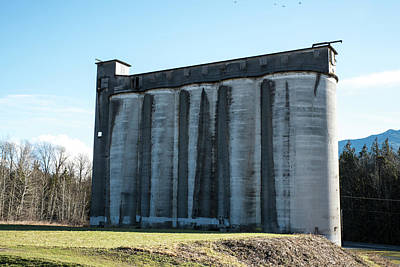 Photograph - Guardian Silos by Tom Cochran