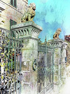 Photograph - Guardians At The Gates by Dorothy Berry-Lound