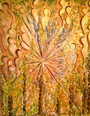 Oneness Painting - Guardians Of Light by Simran