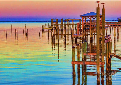Photograph - Guarding The Dock by Roberta Byram