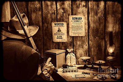 Photograph - Guarding The Payroll by American West Legend By Olivier Le Queinec