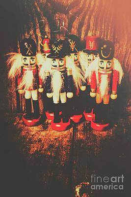 Mustache Photograph - Guards Of The Toy Box by Jorgo Photography - Wall Art Gallery