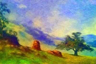 Digital Painting - Guatapara by Caito Junqueira