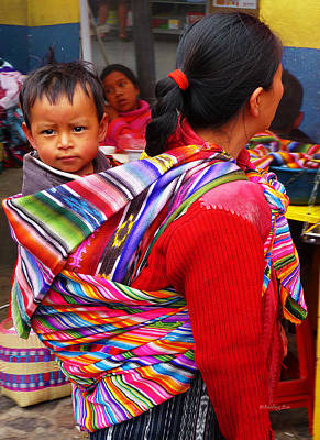 Photograph - Guatemala Impression 1 by Xueling Zou