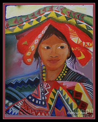 Mixed Media - Guatemalan Dignity And Grace by Patricia Bunk