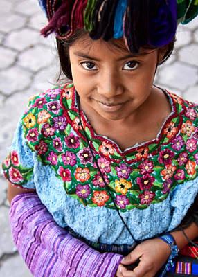 Photograph - Guatemalan Girl by Tatiana Travelways