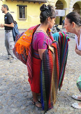 Photograph - Guatemalan People 1 by Randall Weidner