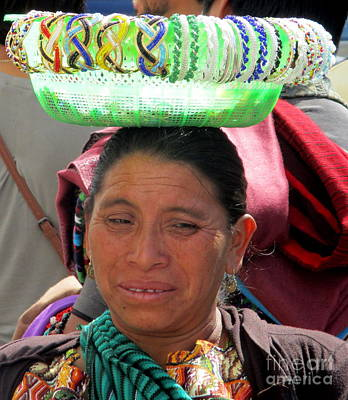 Photograph - Guatemalan People 3 by Randall Weidner