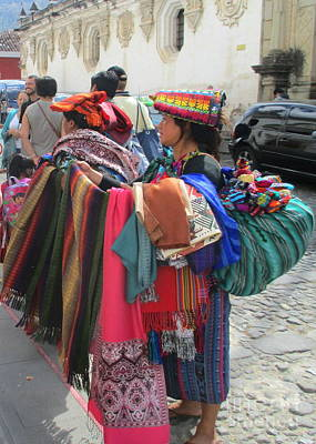 Photograph - Guatemalan People 4 by Randall Weidner