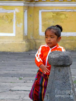 Photograph - Guatemalan People 5 by Randall Weidner