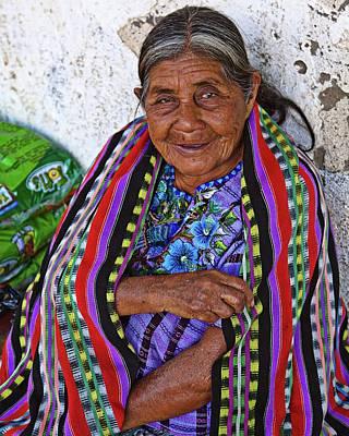 Photograph - Guatemalan Woman by Tatiana Travelways