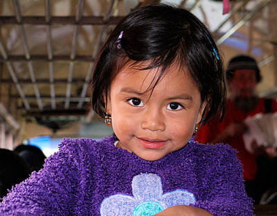 Photograph - Guatemalian Child by Joel Gilgoff