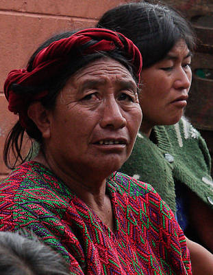 Photograph - Guatemalian Women by Joel Gilgoff