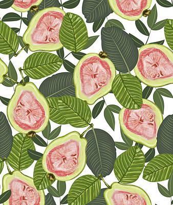Digital Art - Guava by Uma Gokhale