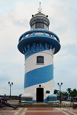 Guayaquil Lighthouse Art Print by Catherine Sherman