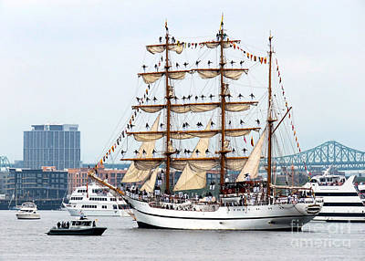Photograph - Guayas Parade Of Sails  by Janice Drew