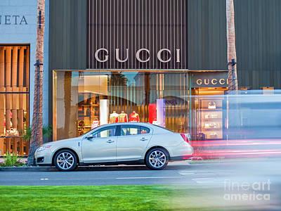 Photograph - Gucci El Paseo by David Zanzinger