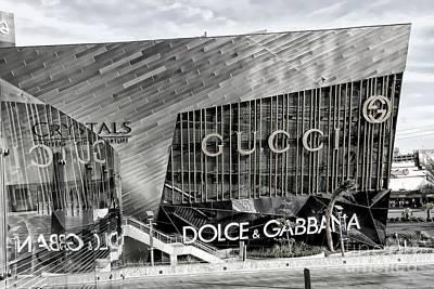 Mixed Media - Gucci Las Vegas by Bob Pardue