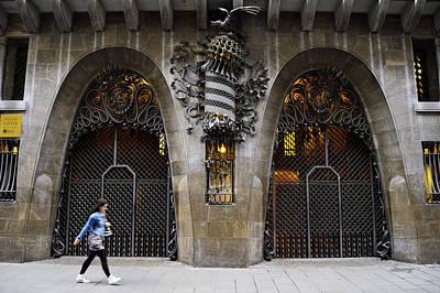 Photograph - Guell Palace Barcelona Spain by Marek Stepan