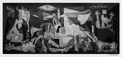 F 38 Guernica Photo  Art Print by Norberto Torriente