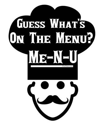 Digital Art - Guess What Is On The Menu by Motivational Artwork