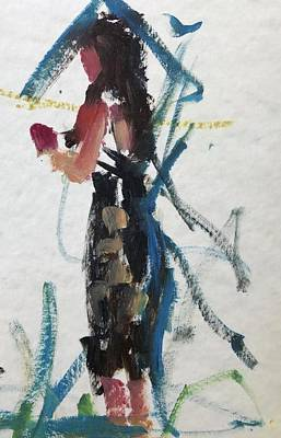 Painting - Guest 5 by Carol Berning