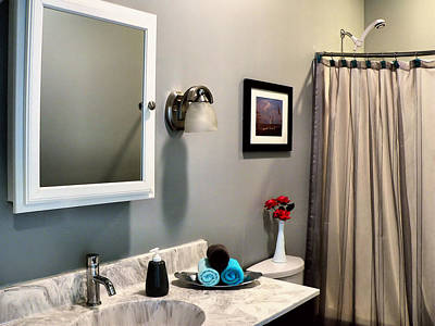 Photograph - Guest Bath by Kathy K McClellan