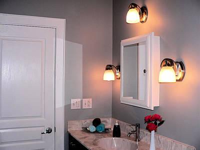 Photograph - Guest Bath Vanity by Kathy K McClellan