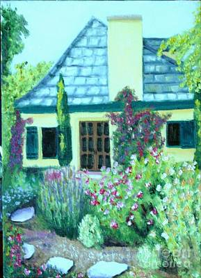 Painting - Guest Cottage by Laurie Morgan