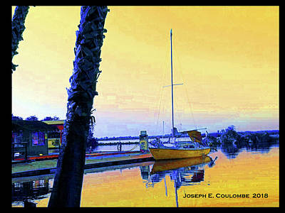 Digital Art - Guest Dock 4 Sailors by Joseph Coulombe