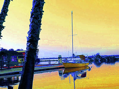 Digital Art - Guest Dock Sailor by Joseph Coulombe