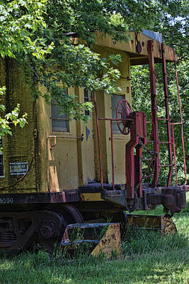 Photograph - Guest House Caboose by Alana Thrower