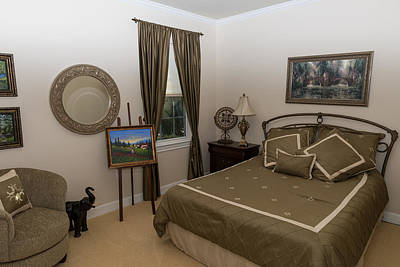 Photograph - Guest Room by John Johnson