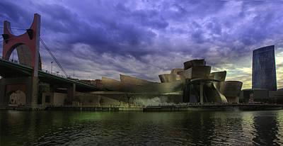 Contemporary Art Photograph - Guggenheim Bilbao by Contemporary Art