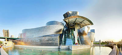 Photograph - Guggenheim Bilbao Long by Weston Westmoreland
