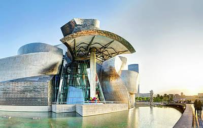 Photograph - Guggenheim Bilbao Short by Weston Westmoreland