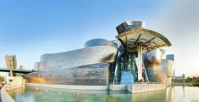 Photograph - Guggenheim Bilbao by Weston Westmoreland