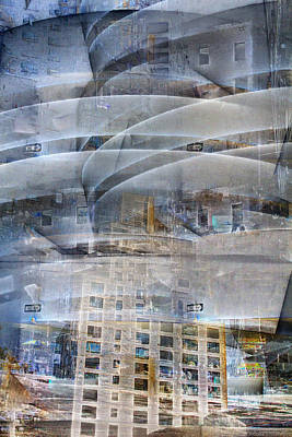 Photograph - Guggenheim Collage by Dave Beckerman