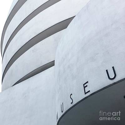 Photograph - Guggenheim by Flavia Westerwelle