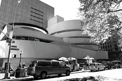 Photograph - Guggenheim - Infrared by David Bearden